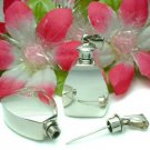 925 STERLING SILVER PLAIN 1-INCH PERFUME BOTTLE PENDANT