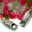 925 STERLING SILVER WHISTLE (WORKS) PENDANT