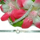 STERLING SILVER 16 INCH BEST FRIEND FLAT CHAIN NECKLACE