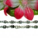 925 STERLING SILVER HANDBAG CHARM LINK BRACELET