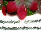 925 STERLING SILVER MOTORCYCLE / BIKE CHARM BRACELET