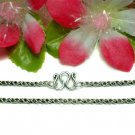 "925 STERLING SILVER 22"" INCH ROPE CHAIN NECKLACE"