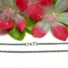 "925 STERLING SILVER 16"" INCH ROPE CHAIN NECKLACE"