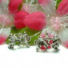 STERLING SILVER ICE HOCKEY MALE PLAYERS CHARM PENDANT