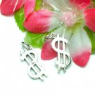 925 STERLING SILVER DOLLAR $SIGN CHARM / PENDANT #16