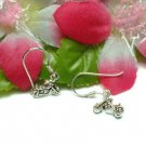 925 STERLING SILVER MOTORCYCLE HOOK EARRINGS (#KS-ER33)