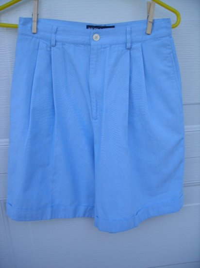 Ralph Lauren Polo Blue Linen Shorts SIZE 8