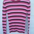 Cherokee Pink Knit Sweater SIZE 14/16