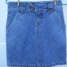 Gap Denim Belted Skirt SIZE 0 (Zero)