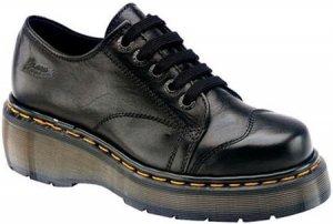 Dr. Martens Black Illusion 5 Eyelet Cap Toe Shoe 8651- Sz. 10 Womens, 9 Mens