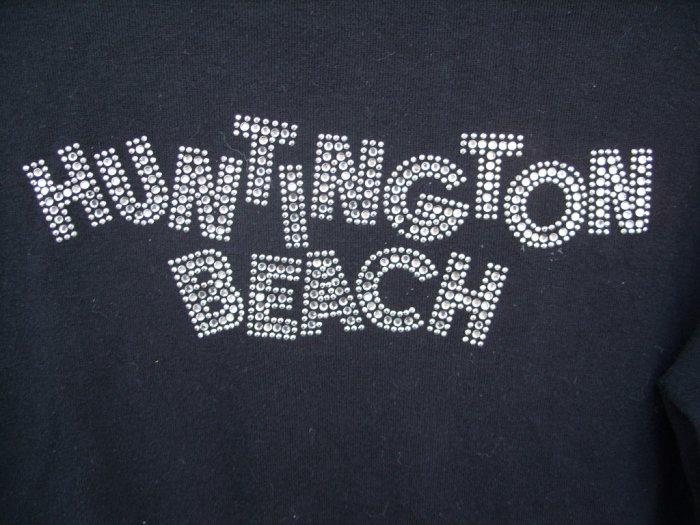 "Kavio Boutique ""Huntington Beach"" LS Tee SIZE LARGE"