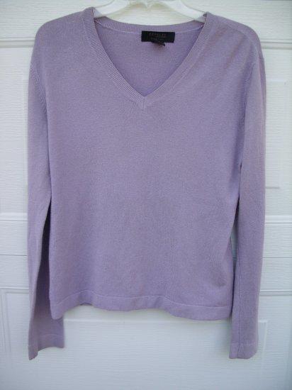 Express Light Purple Sweater SIZE LARGE
