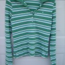 American Eagle LS Stretch Polo SIZE MEDIUM