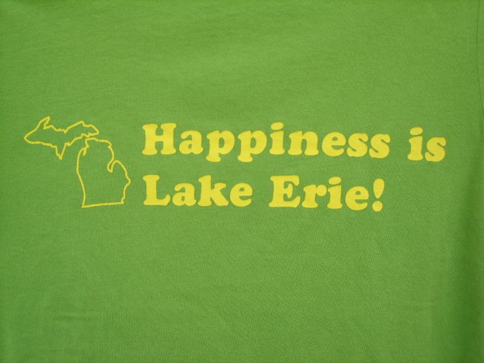 "Old Navy Perfect Fit ""Lake Erie"" Tee SIZE SMALL"