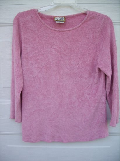 Heirloom Collections Pink Sweater SIZE 4/6 SMALL