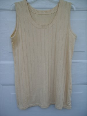 Light Yellow Tank SIZE XXL 20/22W PLUS