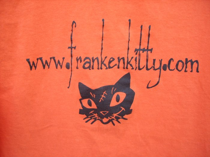 Frankenkitty.com Tee SIZE16/18 XL
