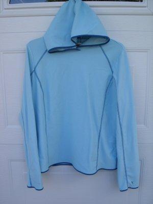 Danskin Blue Hooded Top Size XLARGE 16/18
