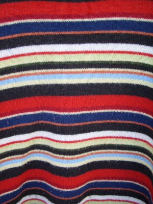 Old Navy Multi-colored Stripe Sweater SIZE LARGE