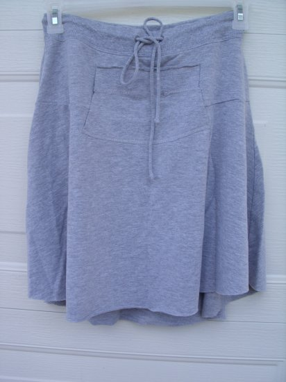 LA Kitty Grey Casual Skirt SIZE LARGE