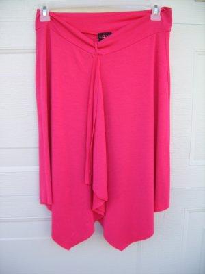 Sassy Hot Pink Stretch Skirt SIZE LARGE