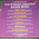 WORLDS GREATEST BALLET MUSIC ALBUM SET of 5 33RPM