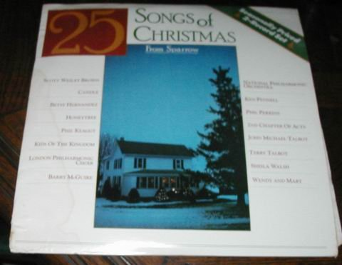 25 Christmas Songs Happy Holiday 2 RECORDs LP PHILHARMONIC