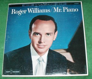 ROGER WILLIAMS RECORD MR. PIANO MUSIC misty hatari 33LP