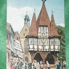 ODENWALD GERMANY POST CARD RATHAUS VON MICHELSTANDT