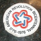 AMERICAN REVOLUTION BICENTENNIAL1876-1976 PATCH