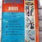 "Vintage Whitman ""ADVENTURES WITH BIRDS"" Activity Book"