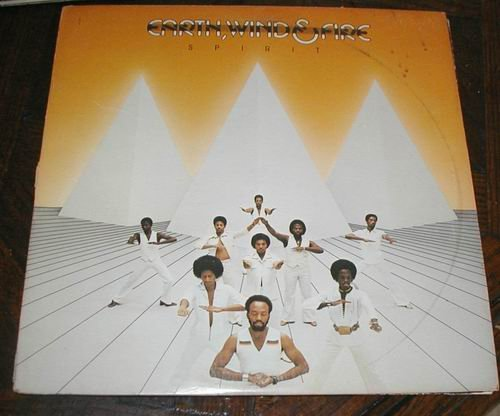 EARTH, WIND & FIRE - SPIRIT 1976 LP RECORD 33