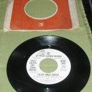 NANCY AND FRANK SINATRA FEELIN' KINDA SUNDAY RECORD 45