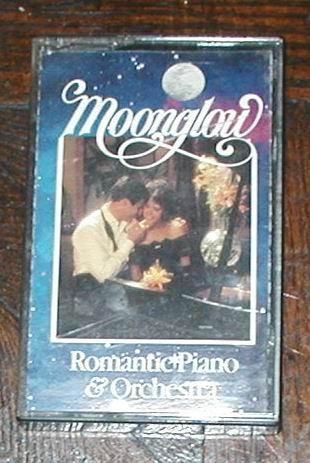 MOONGLOW ROMANTIC PIANO & ORCHESTRA CASSETTE