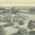 BOSTON MASSACHUSETTS Boston Rose Garden 1938 1 C STAMP