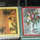 FLORIDA PLAYING CARDS Vintage old souvenior of State of Florida, WITH PALM TREES,