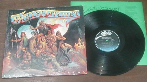 MOLLY HATCHET TAKE NO PRISONERS RECORD 1981 LP MINTY 33  MINT RECORD