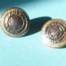2 VINTAGE AMERICAN LEGION BUTTONS MADE BY WATERBURY