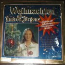 "WEIHNACHITEN ANDREA JUGENS GERMAN CHRISTMAS MUSIC RECORD 33 RPM. SONGS INCLUDE "" STILLE NACHT,"