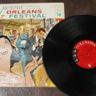 NEW ORLEANS JAZZ FESTIVAL Turk Murphy  LP 33 RECORD