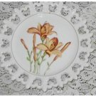PLATE TIGER LILY PLATE Lattice CUT OUT WALL DECOR