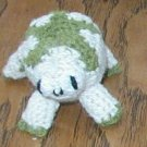 "crochet CUTEST FROG  hand made home made USA 2 1/2"" tall very cute REPTILE  animal"