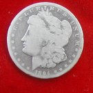 1894 O Morgan Silver Dollar Circulated United States antique coin silver estate