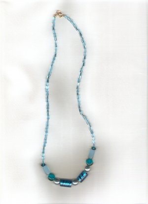 Ocean Tide Beaded Necklace