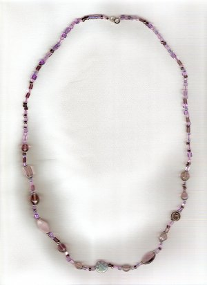 Celestial Amethyst Necklace