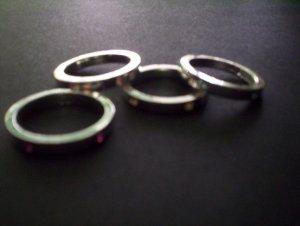 rhinestoned ring