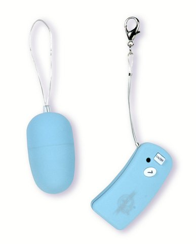 Wireless Remote Control Vibrating Egg - Blue - DJ0902-01