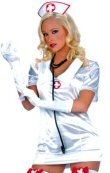4 Piece Naughty Nurse Costume
