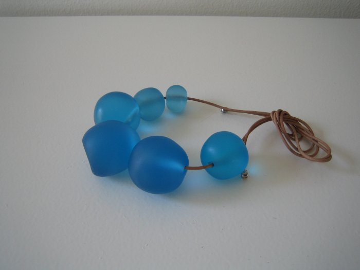 Macy Necklace - Blue