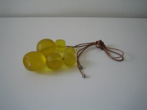 Macy Necklace - Yellow